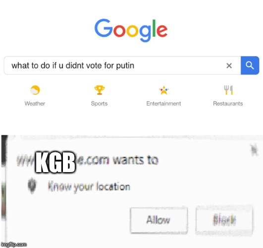 Beware... | KGB | image tagged in russia | made w/ Imgflip meme maker