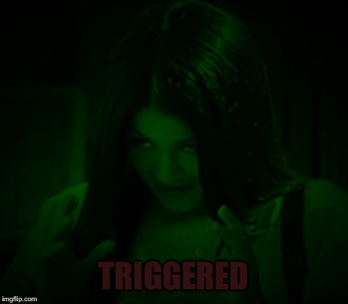 Night Mima | TRIGGERED | image tagged in night mima | made w/ Imgflip meme maker