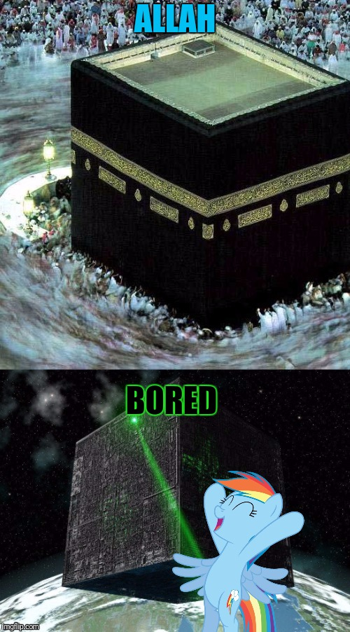 ALLAH BORED | made w/ Imgflip meme maker