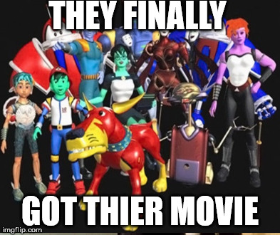 REBOOT | THEY FINALLY GOT THIER MOVIE | image tagged in movies | made w/ Imgflip meme maker