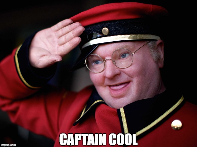 Benny Hill | CAPTAIN COOL | image tagged in memes | made w/ Imgflip meme maker