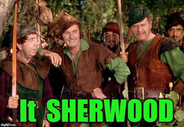 It  SHERWOOD | made w/ Imgflip meme maker
