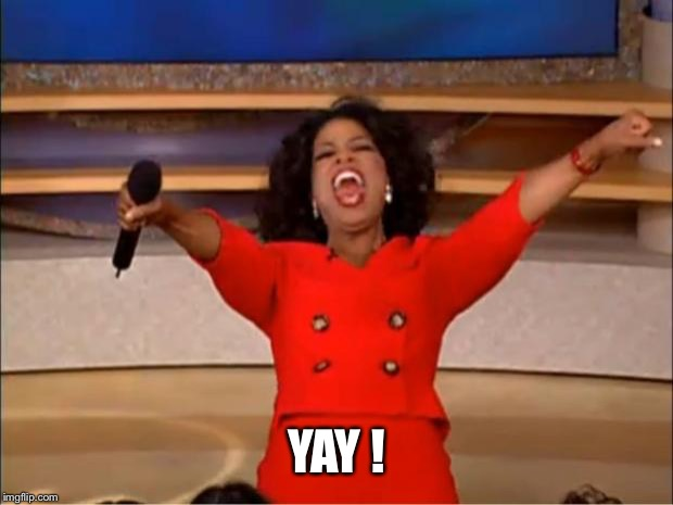 Oprah You Get A Meme | YAY ! | image tagged in memes,oprah you get a | made w/ Imgflip meme maker