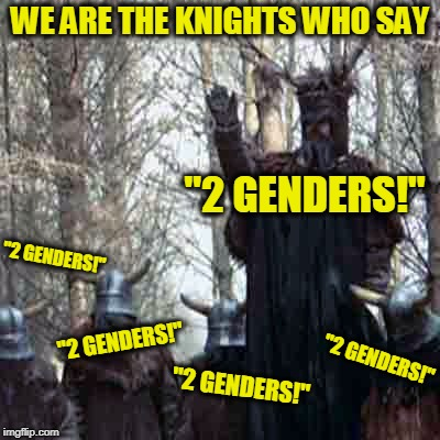 "We are Now No Longer the Knights Who Say ""Ni"" 