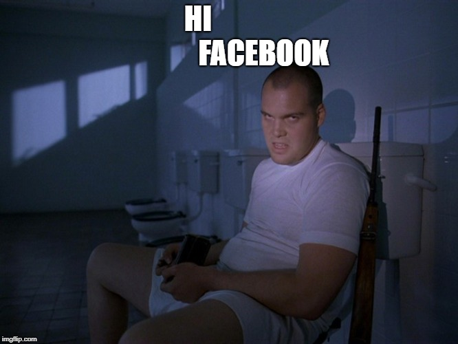 HI                       FACEBOOK | image tagged in private | made w/ Imgflip meme maker