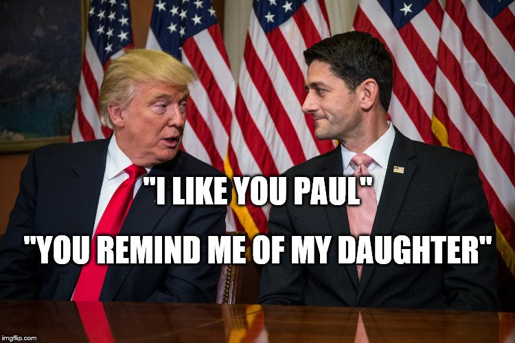 """I LIKE YOU PAUL"" ""YOU REMIND ME OF MY DAUGHTER"" 