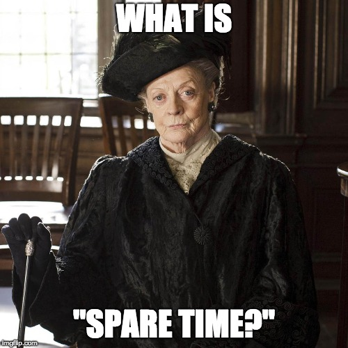 "WHAT IS ""SPARE TIME?"" 