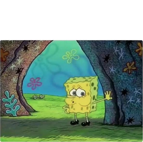 High Quality Tired Spongebob Blank Meme Template