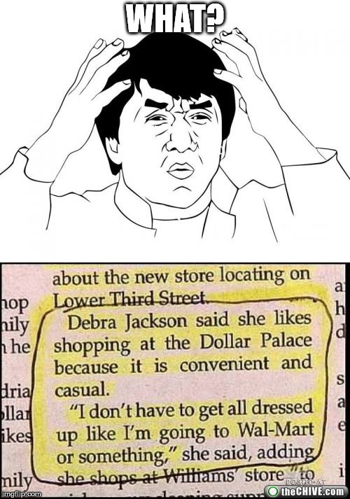 Whaaaaaaaa? | WHAT? | image tagged in jackie chan wtf,newspaper | made w/ Imgflip meme maker