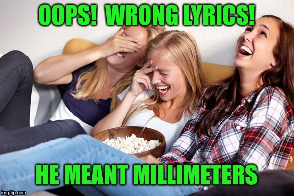 OOPS!  WRONG LYRICS! | made w/ Imgflip meme maker