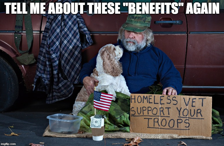 "TELL ME ABOUT THESE ""BENEFITS"" AGAIN 