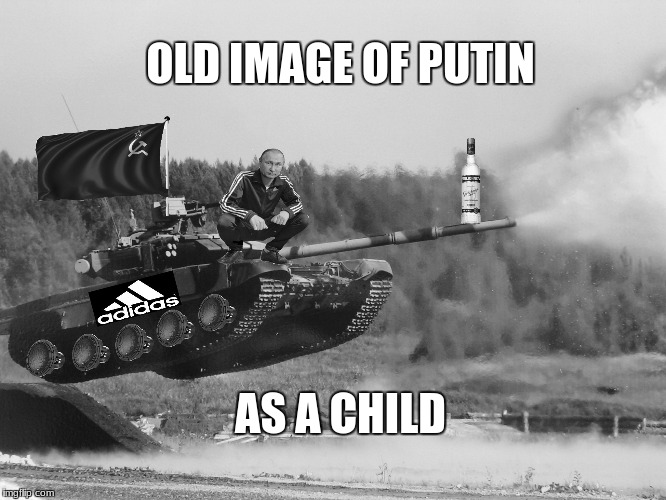 Slavimir Putin | OLD IMAGE OF PUTIN AS A CHILD | image tagged in soviet union | made w/ Imgflip meme maker