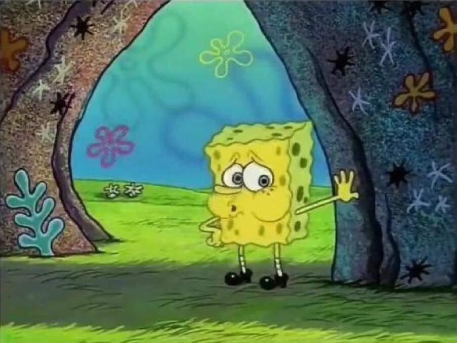 tired spongebob blank template imgflip