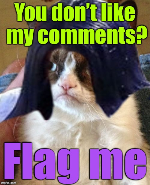 Grumpy Mima | You don't like my comments? Flag me | image tagged in grumpy mima,memes,imgflip,burning flag,faded american flag | made w/ Imgflip meme maker