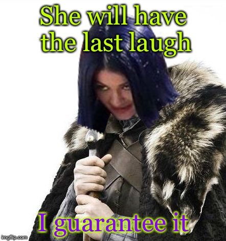 Mima says brace yourselves | She will have the last laugh I guarantee it | image tagged in mima says brace yourselves | made w/ Imgflip meme maker