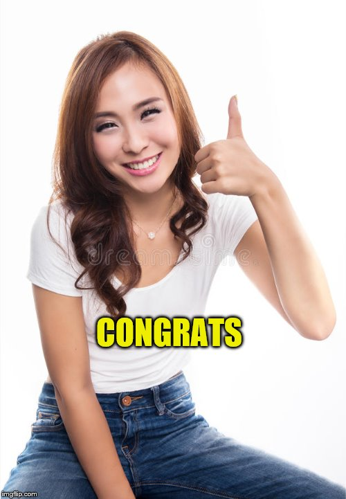 CONGRATS | made w/ Imgflip meme maker