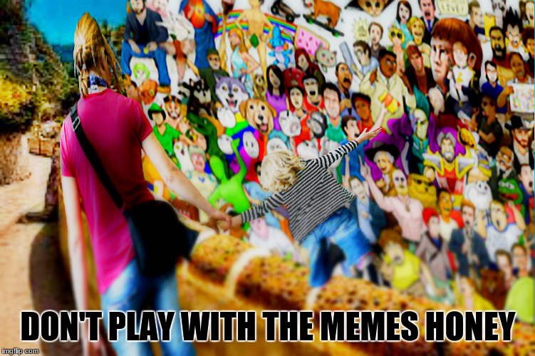 DON'T PLAY WITH THE MEMES HONEY | image tagged in memes | made w/ Imgflip meme maker