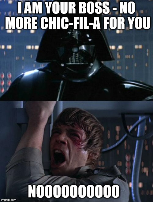 """I am your father"" 