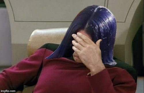 Mima facepalm | :) | image tagged in mima facepalm | made w/ Imgflip meme maker