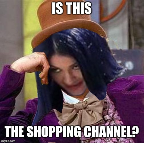 Creepy Condescending Mima | IS THIS THE SHOPPING CHANNEL? | image tagged in creepy condescending mima | made w/ Imgflip meme maker