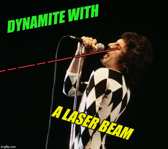 DYNAMITE WITH A LASER BEAM _ __ _ _ __ _ ___ __ ___ | made w/ Imgflip meme maker