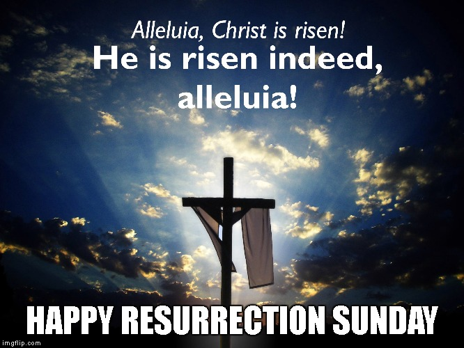 Jesus Defeated The Power Of Death | HAPPY RESURRECTION SUNDAY | image tagged in jesus,jesus christ,resurrection,easter,happy easter,salvation | made w/ Imgflip meme maker