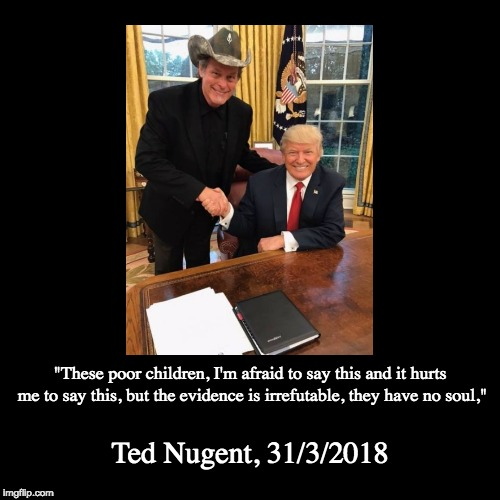 "Brothers in arms | ""These poor children, I'm afraid to say this and it hurts me to say this, but the evidence is irrefutable, they have no soul,"" 