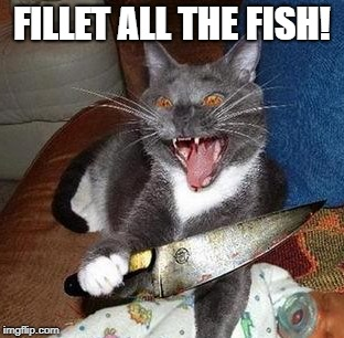 FILLET ALL THE FISH! | made w/ Imgflip meme maker