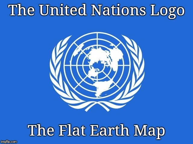 The Proof is Everywhere | . | image tagged in flat earth,truth hurts | made w/ Imgflip meme maker