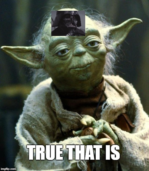 Star Wars Yoda Meme | TRUE THAT IS | image tagged in memes,star wars yoda | made w/ Imgflip meme maker