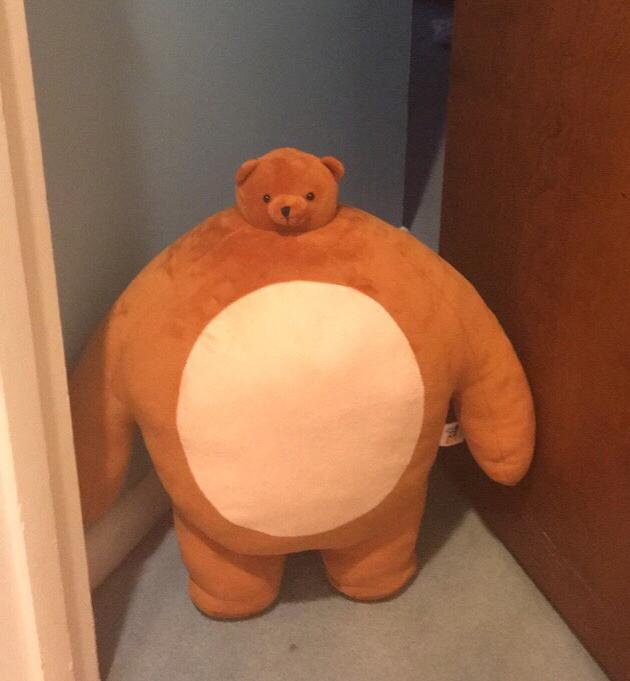 67ab6397630 High Quality Buff Teddy Bear Blank Meme Template