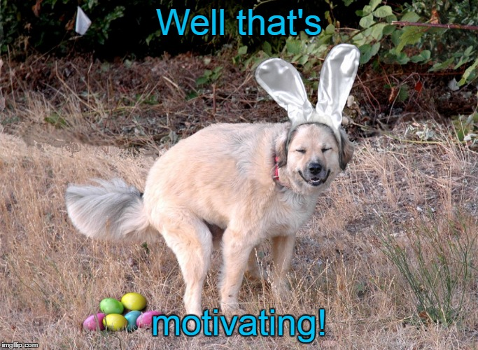 Well that's motivating! | made w/ Imgflip meme maker