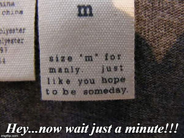 Hey...now wait just a minute!!! | image tagged in funny | made w/ Imgflip meme maker