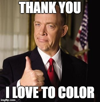 farmers | THANK YOU I LOVE TO COLOR | image tagged in farmers | made w/ Imgflip meme maker