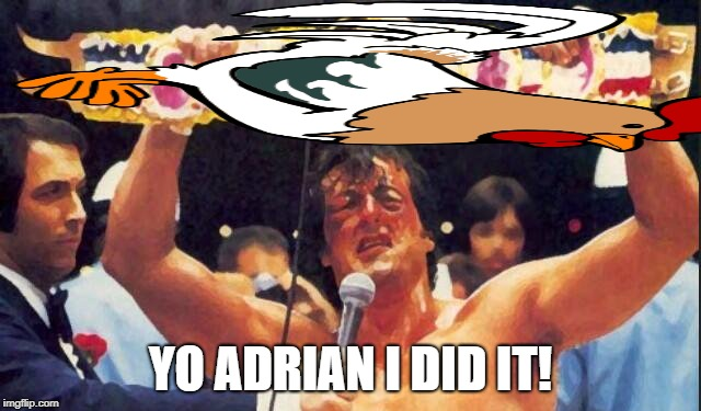 YO ADRIAN I DID IT! | made w/ Imgflip meme maker