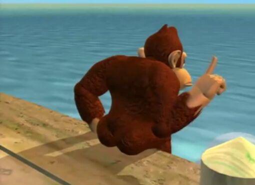 Donkey Kong Butt Blank Template Imgflip