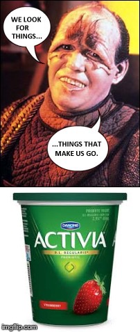 Pakleds for Activia | image tagged in star trek,pakled,activia | made w/ Imgflip meme maker