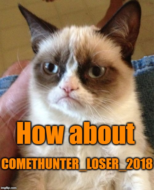 Grumpy Cat Meme | COMETHUNTER_LOSER_2018 How about | image tagged in memes,grumpy cat | made w/ Imgflip meme maker