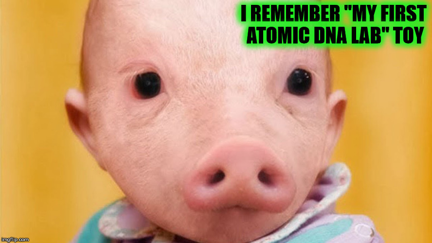 "I REMEMBER ""MY FIRST ATOMIC DNA LAB"" TOY 