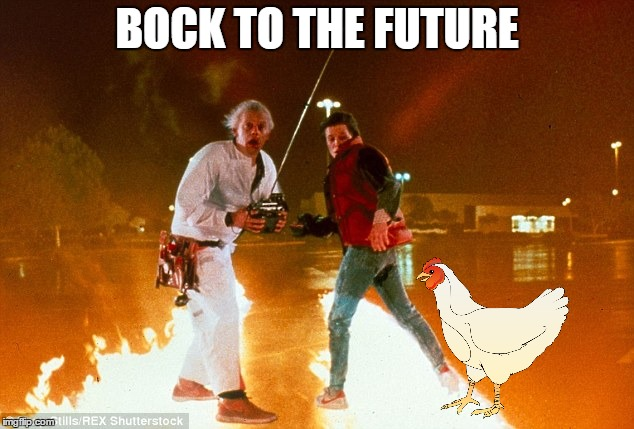 BOCK TO THE FUTURE | made w/ Imgflip meme maker
