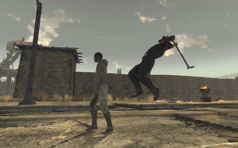 Fallout: New Vegas Unexpected Turn Meme Generator - Imgflip