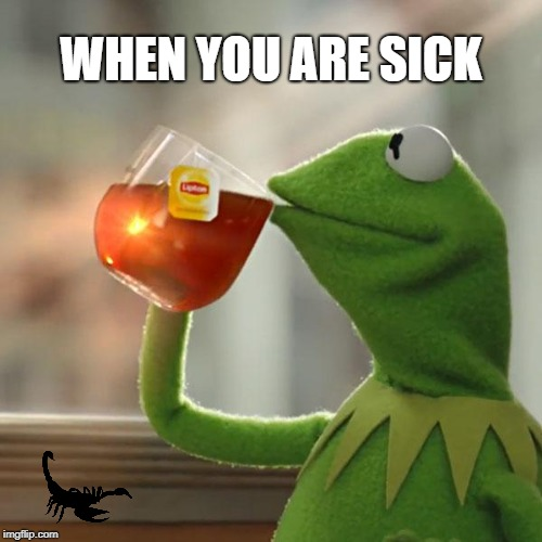 But Thats None Of My Business Meme | WHEN YOU ARE SICK | image tagged in memes,but thats none of my business,kermit the frog | made w/ Imgflip meme maker