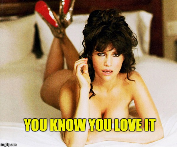 Carla Gugino | YOU KNOW YOU LOVE IT | image tagged in carla gugino | made w/ Imgflip meme maker