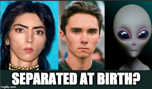 Separated at birth? | SEPARATED AT BIRTH? | image tagged in nasim aghdam | made w/ Imgflip meme maker