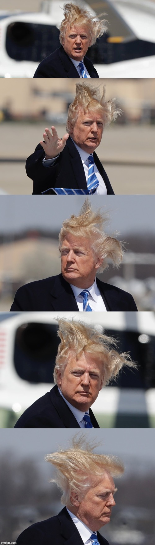 Caption this meme! | CAPTION THIS MEME! | image tagged in trump,hair,wig,funny | made w/ Imgflip meme maker