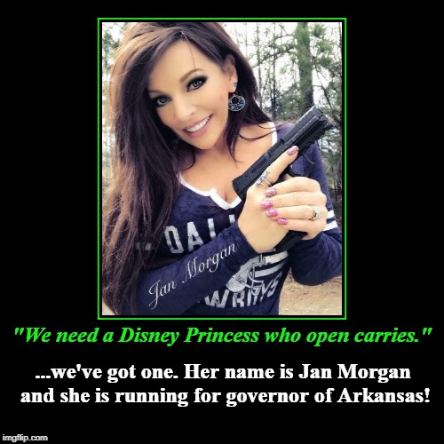 """We need a Disney Princess who open carries."" 