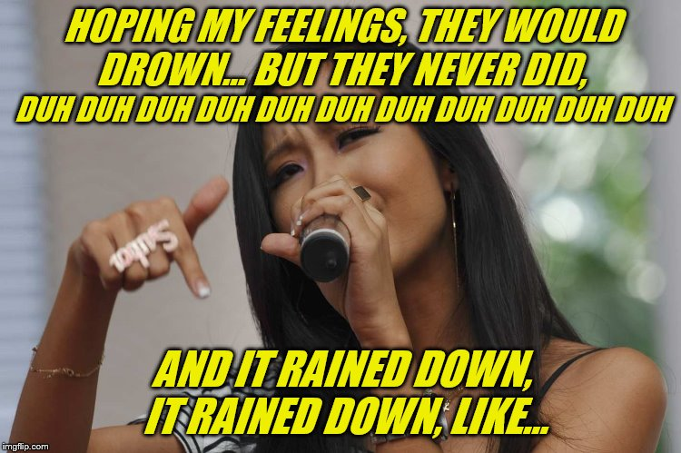 "How I sing ""Believer"" by Imagine Dragons.  Doesn't everyone sing it this way? :-) 