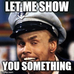 LET ME SHOW YOU SOMETHING | image tagged in fire marshall bill | made w/ Imgflip meme maker