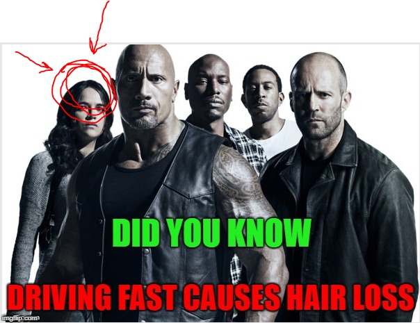 image tagged in fast hair loss | made w/ Imgflip meme maker