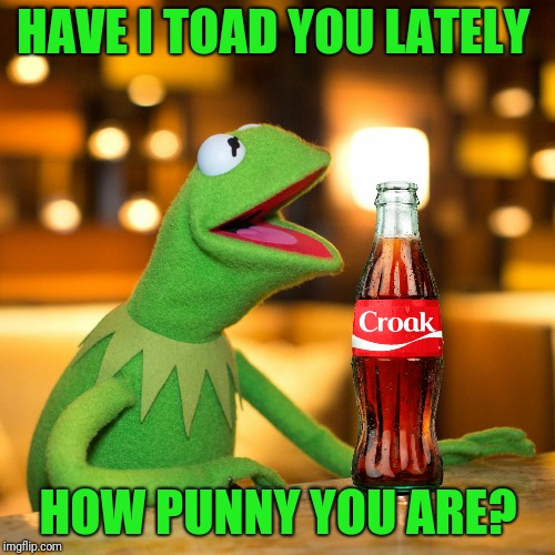 HAVE I TOAD YOU LATELY HOW PUNNY YOU ARE? | made w/ Imgflip meme maker